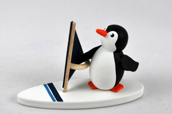 Pinguin Surfer